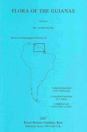 Flora of the Guianas. Series A  Phanerogams Fascicle 24