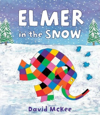 Elmer in the Snow Cover Image