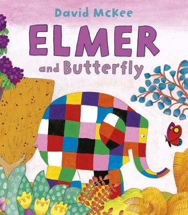 Elmer and Butterfly Cover Image