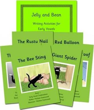 Early Vowels Series Reading and Writing Package
