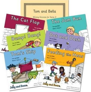Tom and Bella Series 2 Reading and Writing Package