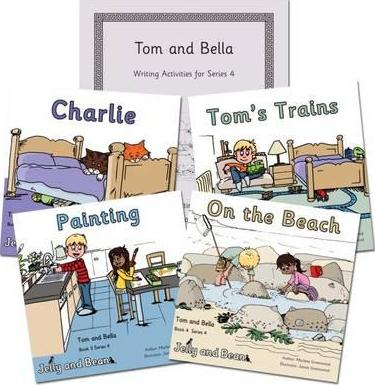 Tom and Bella Series 4 Reading and Writing Package
