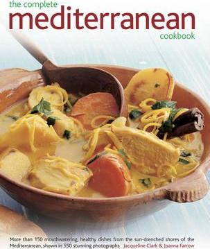 The Complete Mediterranean Cookbook Cover Image