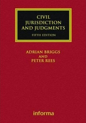Civil Jurisdiction and Judgments