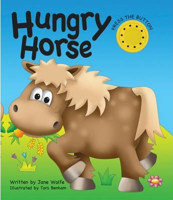 Hungry Horse (a Noisy Book) Cover Image