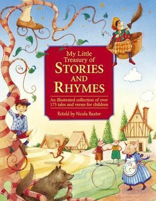 My Little Treasury of Stories and Rhymes Cover Image
