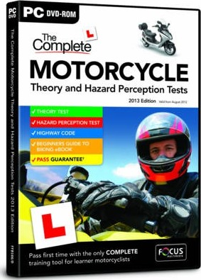 The Complete Motorcycle Theory and Hazard Perception Tests: FFB166/D