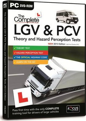 The Complete LGV & PCV Theory & Hazard Perception Tests: FFB169/D
