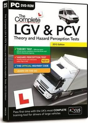 The Complete LGV & PCV Theory & Hazard Perception Tests 2014-15
