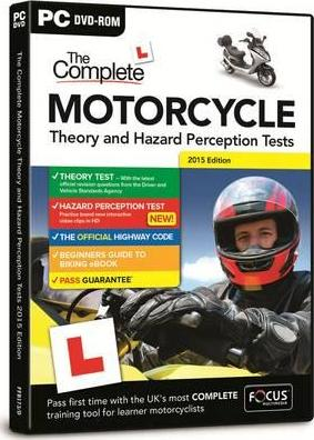 The Complete Motorcycle Theory & Hazard Perception Tests