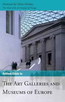 Anthem Guide to the Art Galleries and Museums of Europe Cover Image