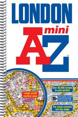 Mini London Street Atlas Cover Image