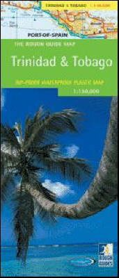 The Rough Guide Map Trinidad and Tobago