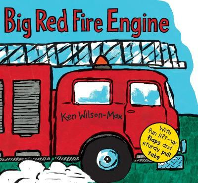 Big Red Fire Engine Cover Image