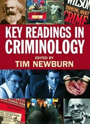 criminology tim newburn Dr anna souhami is senior lecturer in criminology at the school of law, head of  the  anna souhami, janet foster, tim newburn, assessing the impact of the.