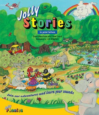 Jolly Stories : In Print Letters (American English edition)