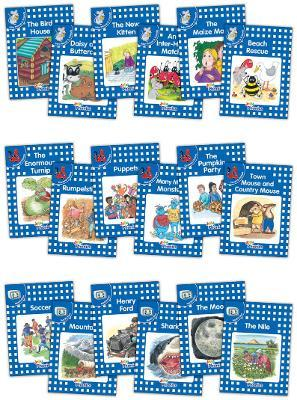 Jolly Phonics Readers, Complete Set Level 4 Cover Image