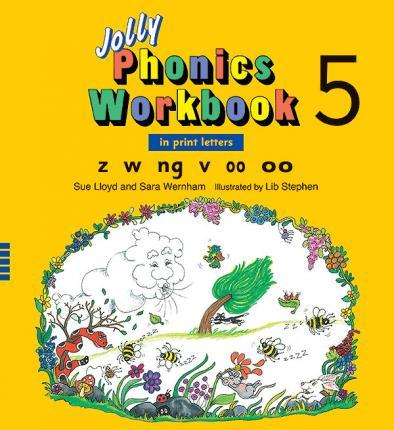 Jolly Phonics Workbook 5: in Print Letters (AE)