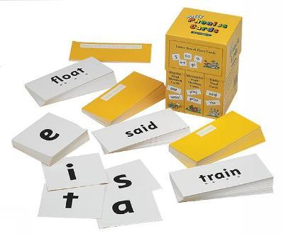 Jolly Phonics Cards (set of 4 boxes) Cover Image
