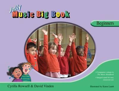 Jolly Music Big Book - Beginners Cover Image