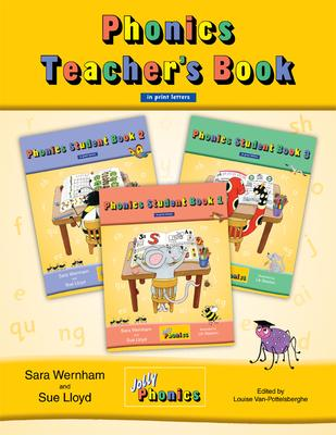 Jolly Phonics Teacher\'s Book (color edition in print letters) : Sara ...