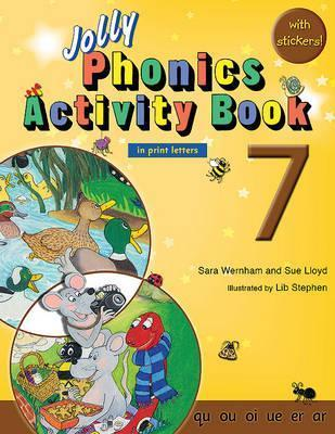 Jolly Phonics Activity Book 7 : In Print Letters (American English edition)