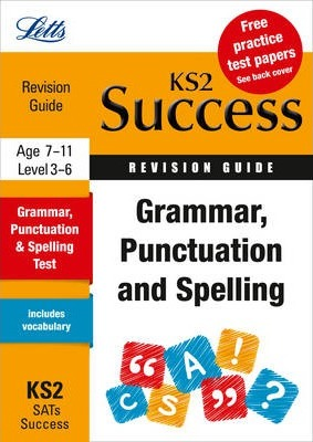 Grammar, Punctuation and Spelling  Revision Guide