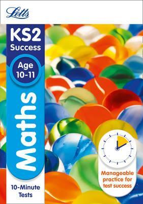 KS2 Maths SATs Age 10-11: 10-Minute Tests Cover Image