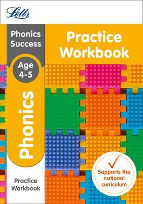 Phonics Ages 4-5 Practice Workbook Cover Image
