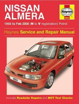 nissan almera petrol 95 feb 00 n to v haynes publishing rh bookdepository com 2001 nissan almera n16 service repair manual 2014 Nissan Sentra