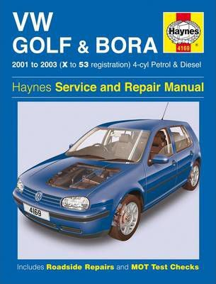 vw golf and bora 4 cyl petrol and diesel service and repair manual rh bookdepository com 1998 VW Golf 1996 VW GTI Parts