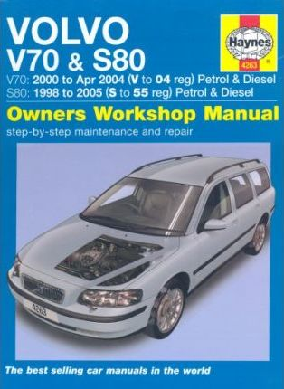 volvo v70 and s80 petrol and diesel service and repair manual rh bookdepository com 2005 volvo xc70 owners manual pdf 2005 volvo xc70 service manual