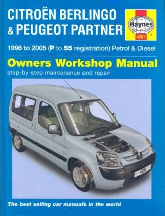 citroen berlingo and peugeot partner petrol and diesel service and rh bookdepository com citroen nemo service manual pdf citroen nemo van repair manual