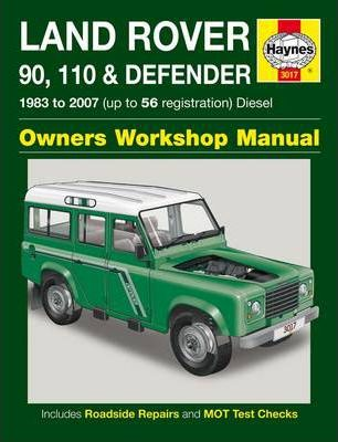 land rover 90 110 and defender diesel service and repair manual rh bookdepository com land rover discovery user manual land rover defender user manual