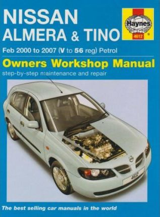 Nissan almera and tino petrol service and repair manual peter t nissan almera and tino petrol service and repair manual fandeluxe Gallery