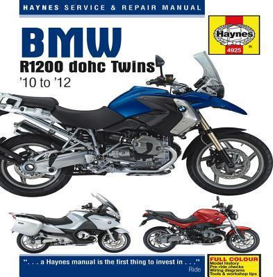 BMW R1200 Dohc Air-cooled Service and Repair Manual Cover Image