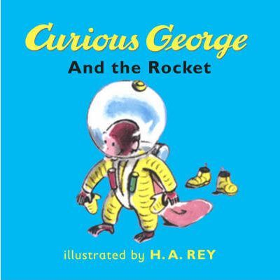 Curious George And The Rocket Board Bk