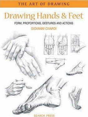 Art of Drawing: Drawing Hands & Feet Cover Image
