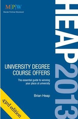 HEAP: University Degree Course Offers 2013
