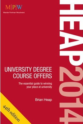 HEAP 2014: University Degree Course Offers