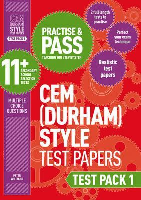 Practise and Pass 11+ CEM Test Papers - Test Pack 1