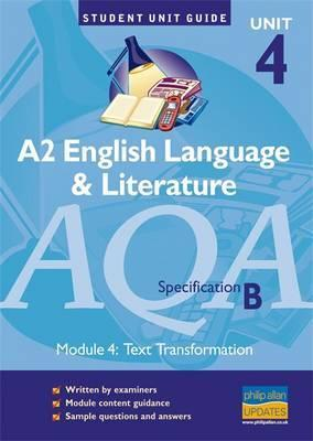 aqa a2 english language and literature b coursework