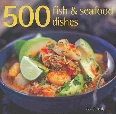 500 Fish & Seafood Dishes Cover Image