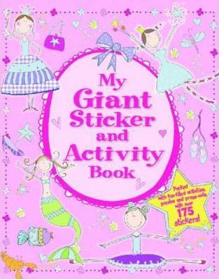 My Giant Sticker and Activity Book Cover Image