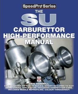The SU Carburettor High Performance Manual Cover Image