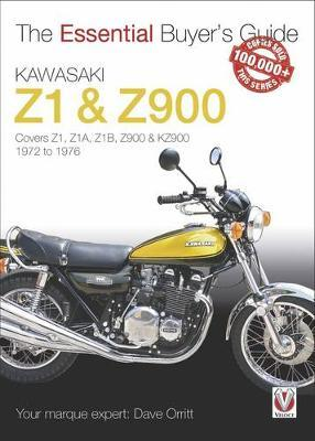 The Essential Buyers Guide Kawasaki Z1 & Z900 Cover Image