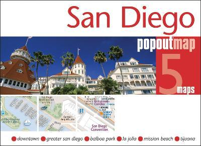 San Diego PopOut Map Cover Image