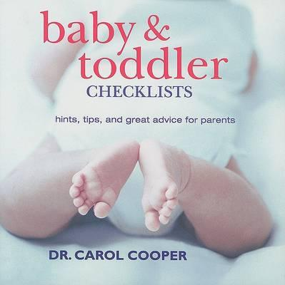 Baby & Toddler Checklists