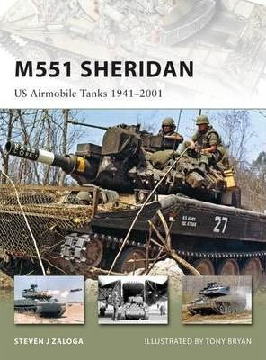 M551 Sheridan: US Airmobile Tanks 1940-2000