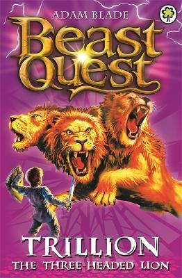 Beast Quest: Trillion the Three-Headed Lion Cover Image